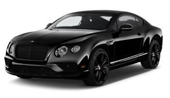 Black Bentley GT Continental