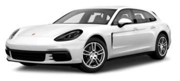 White Porsche Panamera