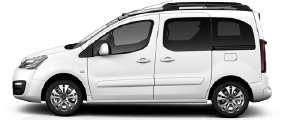 White wheelchair accessible vehicle