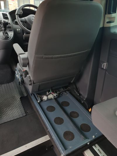 adjustable driver seat view