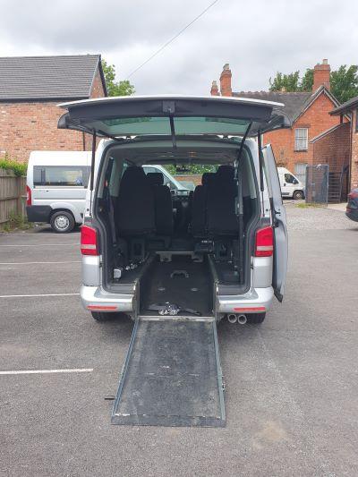 car rear ramp down