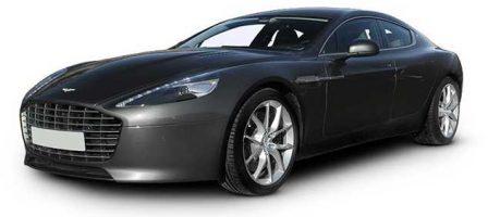 Dark Grey Aston Martin Rapide
