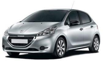 Silver Manual Peugeot 208