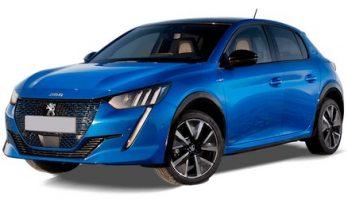 Electric Peugeot e208