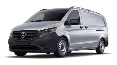 Silver Mercedes eVito