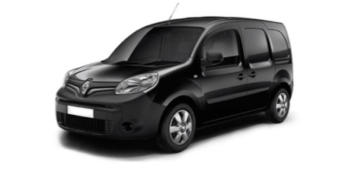 Black Renault Kangoo Z.E.