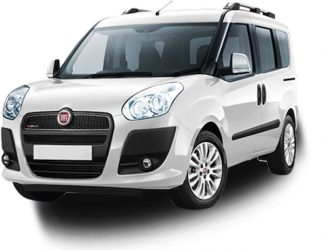 White Fiat Doblo
